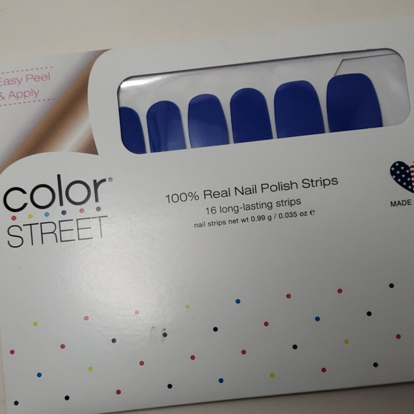 Color Street Other - COLOR STREET Greeking Out Nail Strips